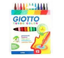 Набор фломастеров GIOTTO TurboColor 12цветов