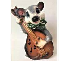 Копилка Мышь с гитарой