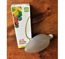 Лампочка 60 Вт Свеча Е 14