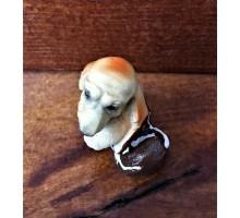Сувенир собака в коричневом ботинке