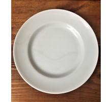 Тарелка мелкая белая
