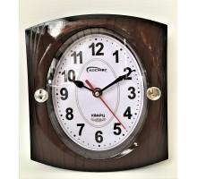 Часы настенные Космос коричневые