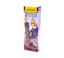 Benelux лакомые палочки с кокосом для длиннохвостых попугаев