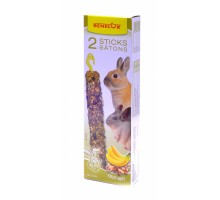 Benelux лакомые палочки для грызунов с орехами и бананами