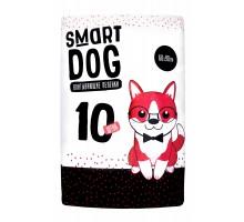 Smart Dog Пелёнки впитывающие пеленки для собак 60х90, 10 шт, 200 г