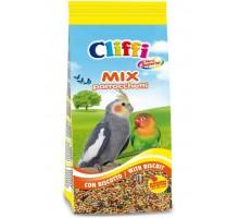 Cliffi (Италия) смесь отборных семян для длиннохвостых попугаев с печеньем