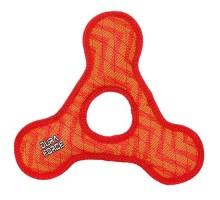 Tuffy супер прочная игрушка для собак Треугольник с круглым отверстием, красный, прочность 9/10