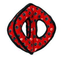 Tuffy супер прочная игрушка для собак Тройное кольцо, красный, прочность 9/10