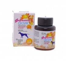 Фармакс фармавит Актив витамины для собак средних и крупных пород 120 таб.