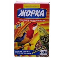 Жорка для мелких и средних попугаев с орехами (коробка)