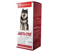 Apicenna лакто-Стоп для собак средних и крупных пород, 15 г