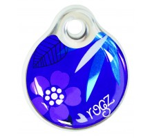 """Rogz адресник пластиковый """"Фиолетовый лес"""""""