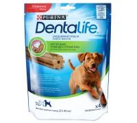 """Purina DentaLife лакомство для собак крупных пород """"Здоровые зубы и десна"""", 35 г"""