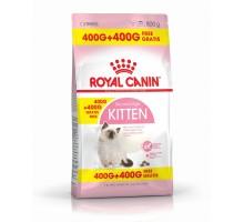 Корм Royal Canin 400 + 400 гр: Для котят от 4 до 12 мес.