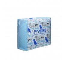 NAPKINS (пелёнки) гелевые пеленки для собак, 60х40 см, 300 г
