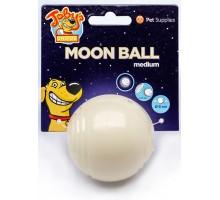 "Kitty City светящийся в темноте мяч для развлечений и угощений ""Луна"", 6,5 см"