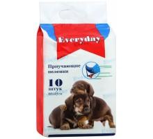 EVERYDAY впитывающие пеленки для животных (гелевые), 10 шт., 250 г