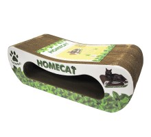"Homecat когтеточка ""Мятная волна"", гофрокартон, 61х25х20 см"