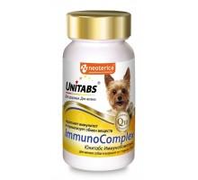 Unitabs витамины ImmunoComplex с Q10 для мелких собак, 100таб