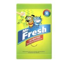 Mr.Fresh салфетки влажные, антибактериальные, 15шт.
