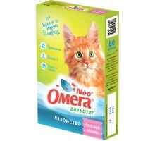 """Фармакс мультивитаминное лакомство Омега Neo+ """"Веселый малыш"""" с пребиотиком и таурином для котят"""
