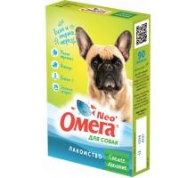 """Фармакс мультивитаминное лакомство Омега Neo+ """"Свежее дыхание """" с мятой и имбирем для собак"""