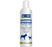Агроветзащита шампунь лечебный с хлоргексидином, 250 г