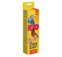 RIO палочки для всех видов птиц с яйцом и ракушечником, 2х40 г