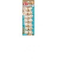 8 в 1 косточки для мелких собак с минералами, с куриным мясом, 7,5 см, (7 шт)