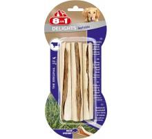 8 в 1 палочки для мелких и средних собак с говядиной, 13 см, (3 шт)