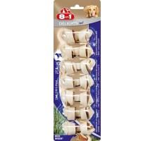 8 в 1 косточки для мелких собак с говядиной, 7,5 см