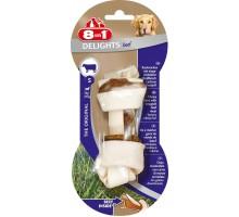 8 в 1 косточка для мелких и средних собак с говядиной, 11 см