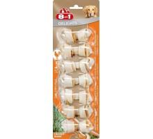 8 в 1 косточки для мелких собак , 7,5 см, (7 шт)