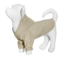 """Yami-Yami толстовка для собаки из флиса с принтом """"Динозавры"""", бежевая, 100 г"""