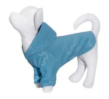 """Yami-Yami толстовка для собаки из флиса с принтом """"Пазлы"""", голубая, 100 г"""