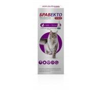Intervet (MSD Animal Health)  Бравекто Плюс Спот-он  капли от блох и клещей для кошек 6.25-12.5 кг