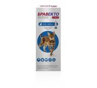 Intervet (MSD Animal Health)  Бравекто Плюс Спот-он капли от блох и клещей для кошек 2.8-6.25 кг