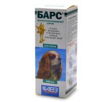 Агроветзащита барс спрей для собак от блох и клещей, 100 г