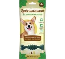 """Зубочистики зубочистики """"Мятные"""" для собак средних пород, 4шт"""